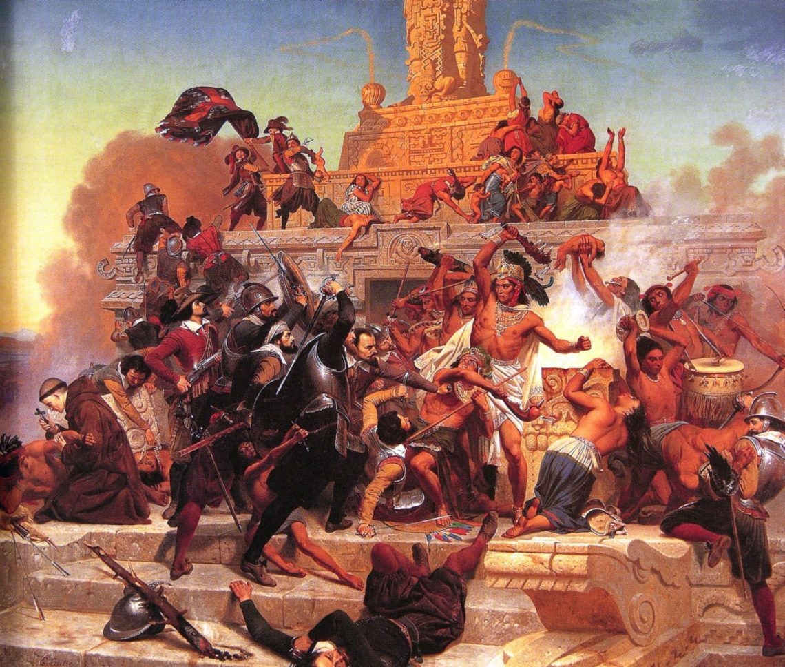 an analysis of the aztec encounter between the spaniards and aztecs in central america Explore leticia rosales's board aztecs on pinterest | see more ideas about aztec warrior, mesoamerican and aztec art.