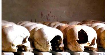 Murambi Genocide Memorial, Rwanda