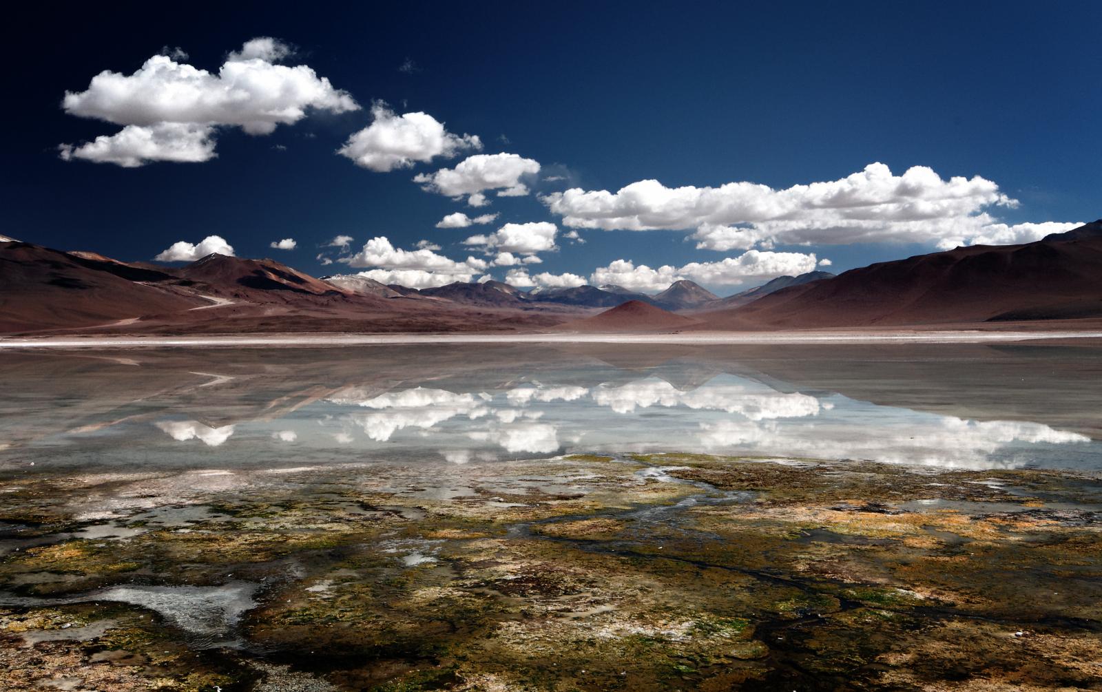 The Laguna Verde in southwestern Bolivia. By Mike Green.
