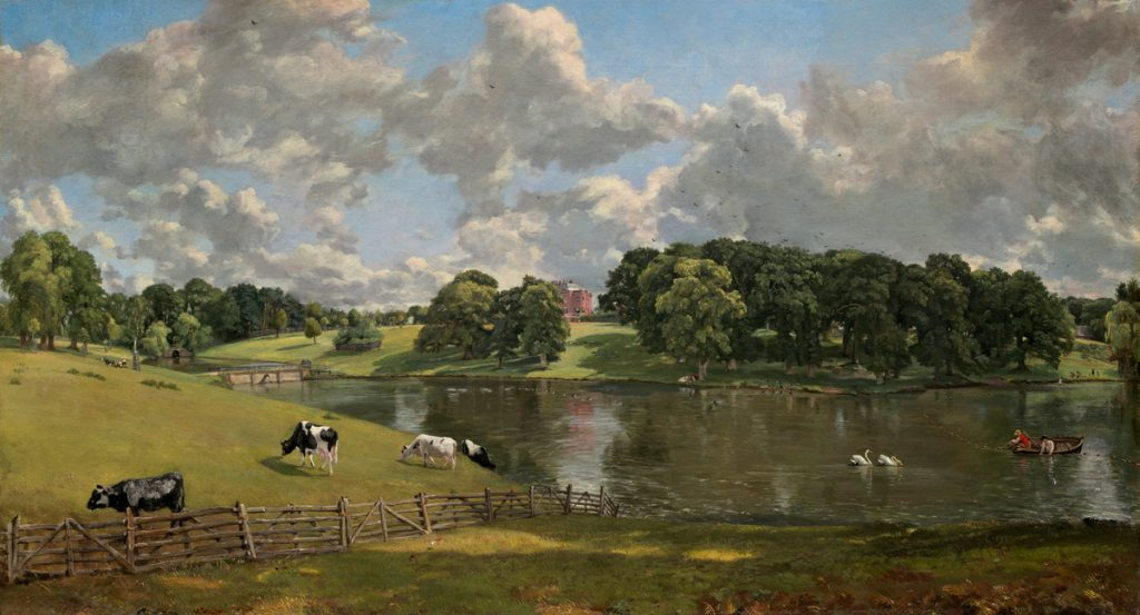John Constable (British, 1776 - 1837 ), Wivenhoe Park, Essex, 1816, oil on canvas, Widener Collection.