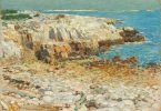 Childe Hassam (American, 1859 - 1935 ), A North East Headland, 1901, oil on canvas, Corcoran Collection (Museum Purchase, Gallery Fund) 2014.136.7