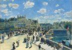 Auguste Renoir (French, 1841 - 1919 ), Pont Neuf, Paris, 1872, oil on canvas, Ailsa Mellon Bruce Collection