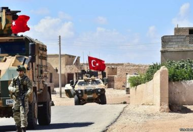 Turkish soldiers in Northern Syria