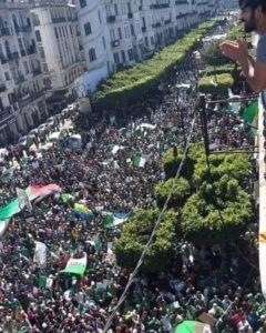 Protest in Algiers