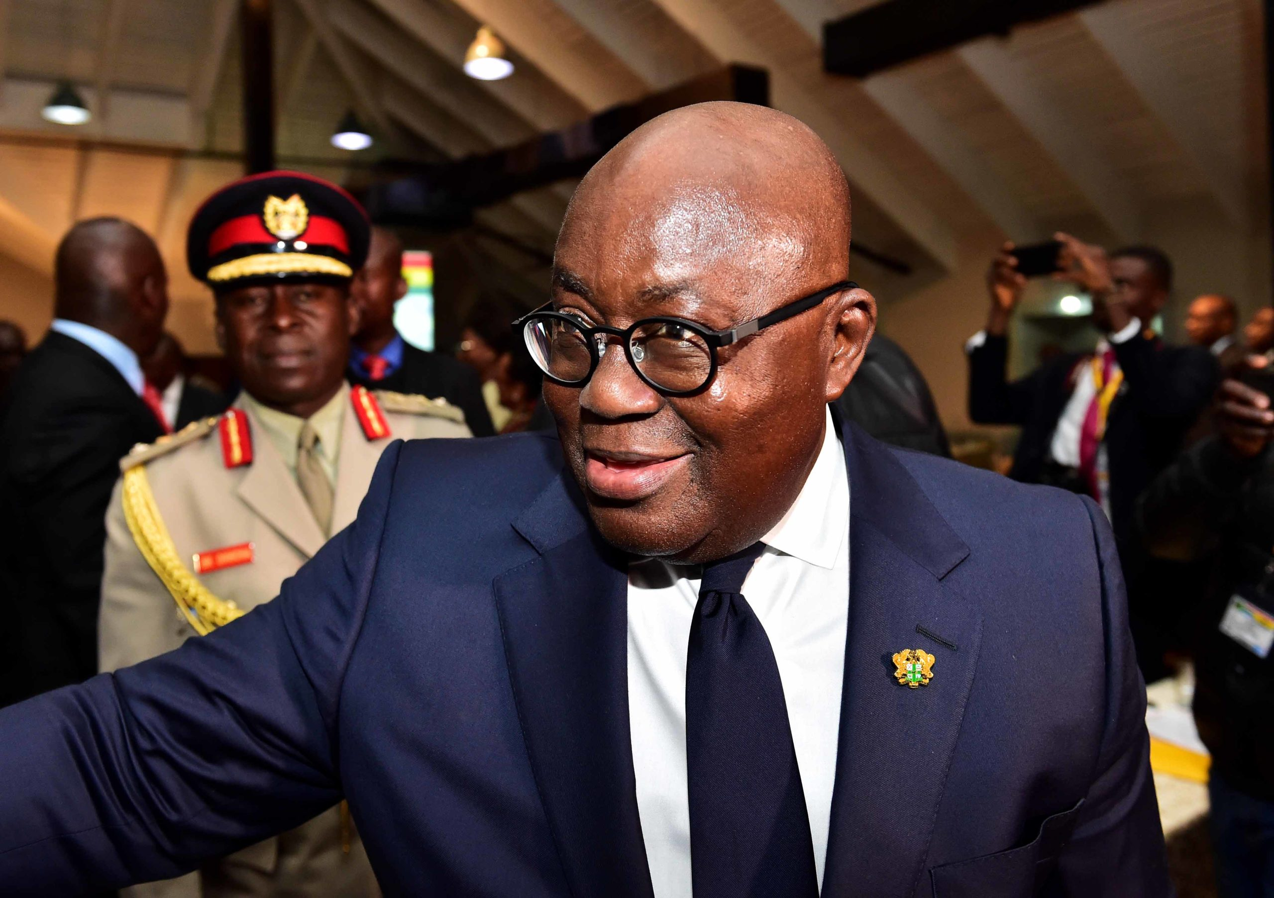 Ghanaian President Nana Akufo-Addo. Photo courtesy of GovernmentZA.
