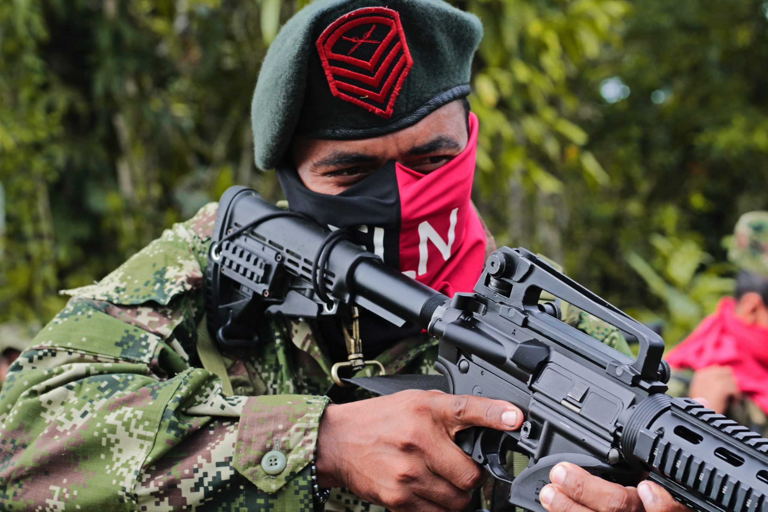 An ELN fighter. Photo courtesy of Brasil de Fato.